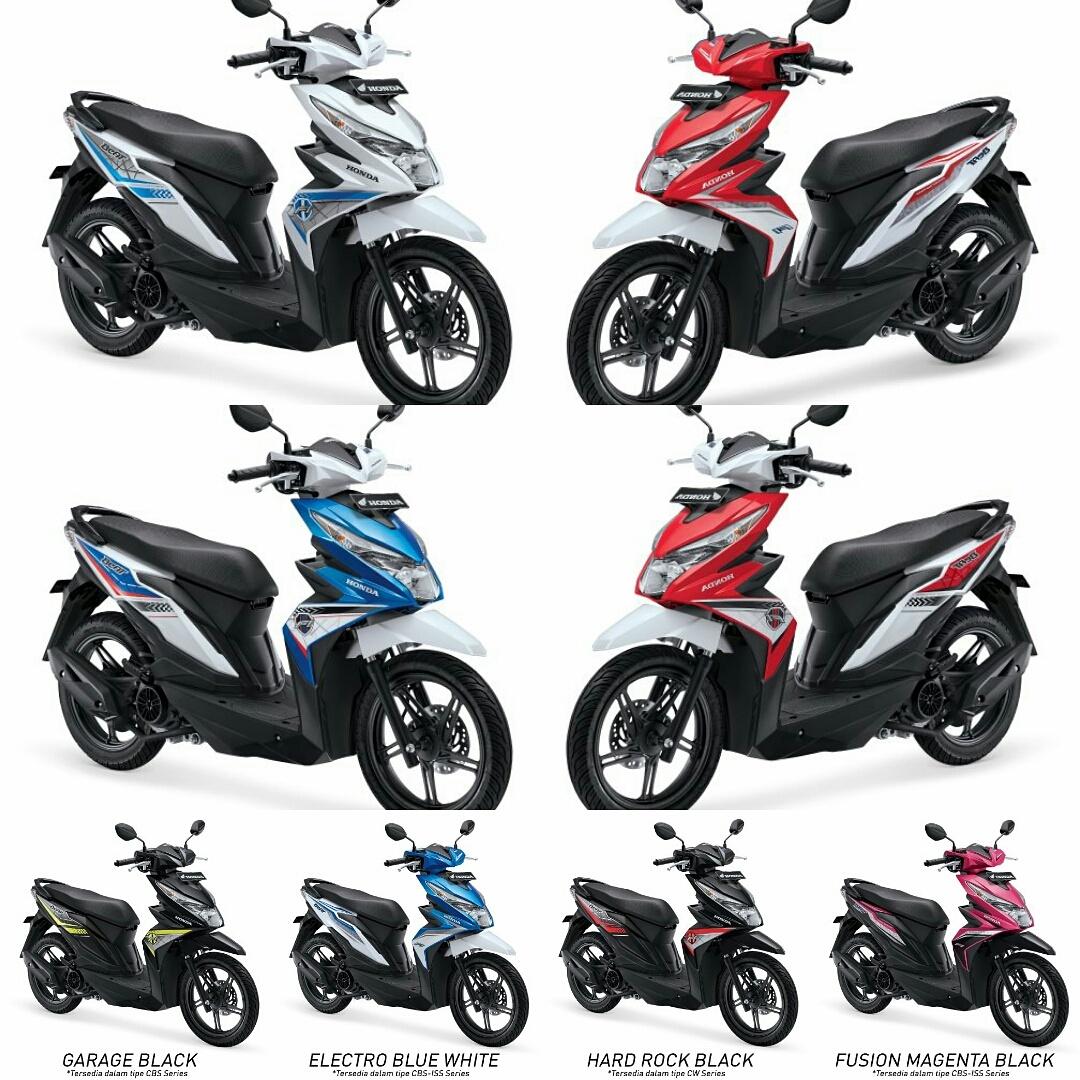 Honda Beat Sporty Cw Dance White Khusus Daerah Bogor Dansekitarnya New Vario 110 Esp Cbs Iss Grande Depok Bekasi Source Dan Sekitarnya Jakarta Universal Motor